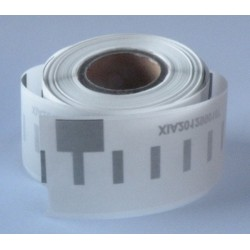 Dymo labels 99010 transparent, kompatibel